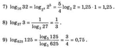 Логарифми. Основні властивості. Приклади2