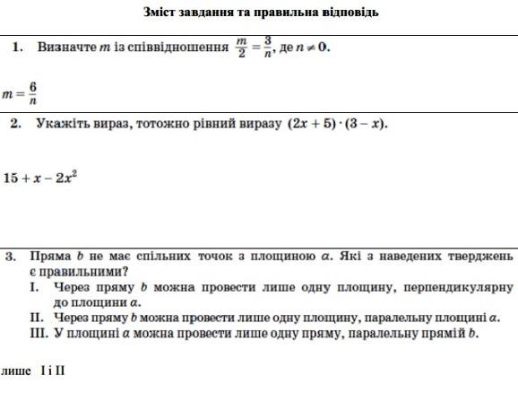 Тести ЗНО 2013