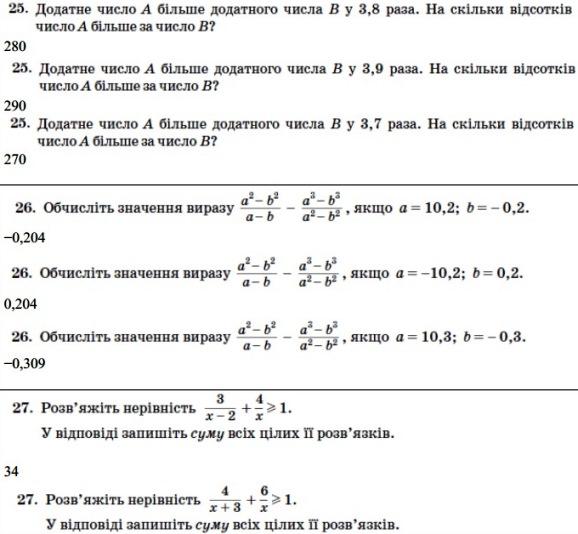 Математика ЗНО 2013 (11)