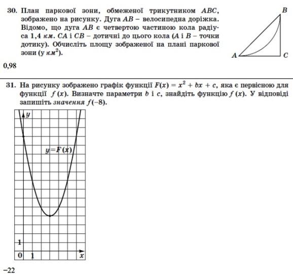 Математика ЗНО 2013 (14)