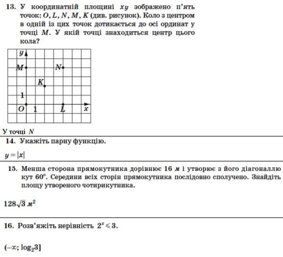 Тести ЗНО 2013 (6)
