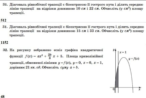 Математика. ЗНО 2014. Відповіді та розв'язання 13