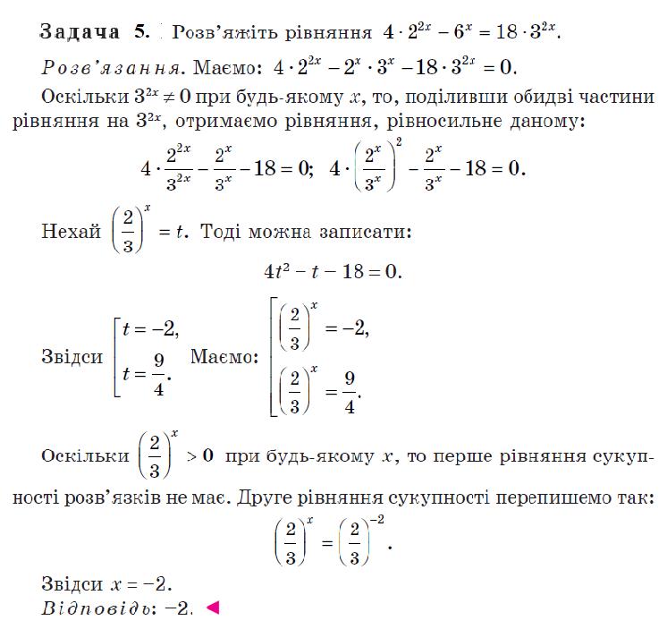 Методи розв'язування показникових рівнянь . 2 частина
